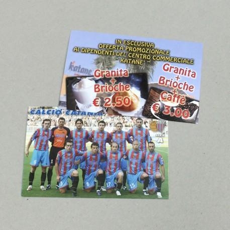 Cartoline plastificate
