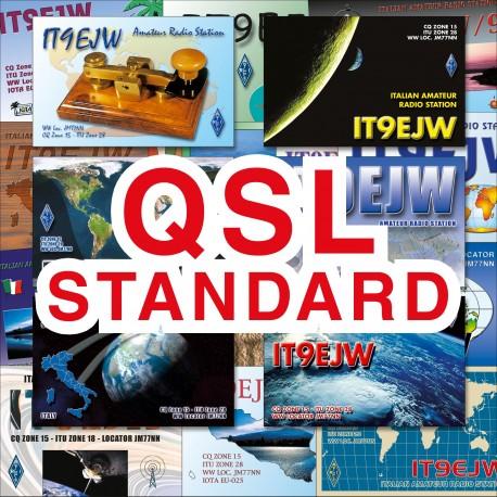 STANDARD QSL CARDS