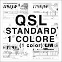 QSL standard 1 colore