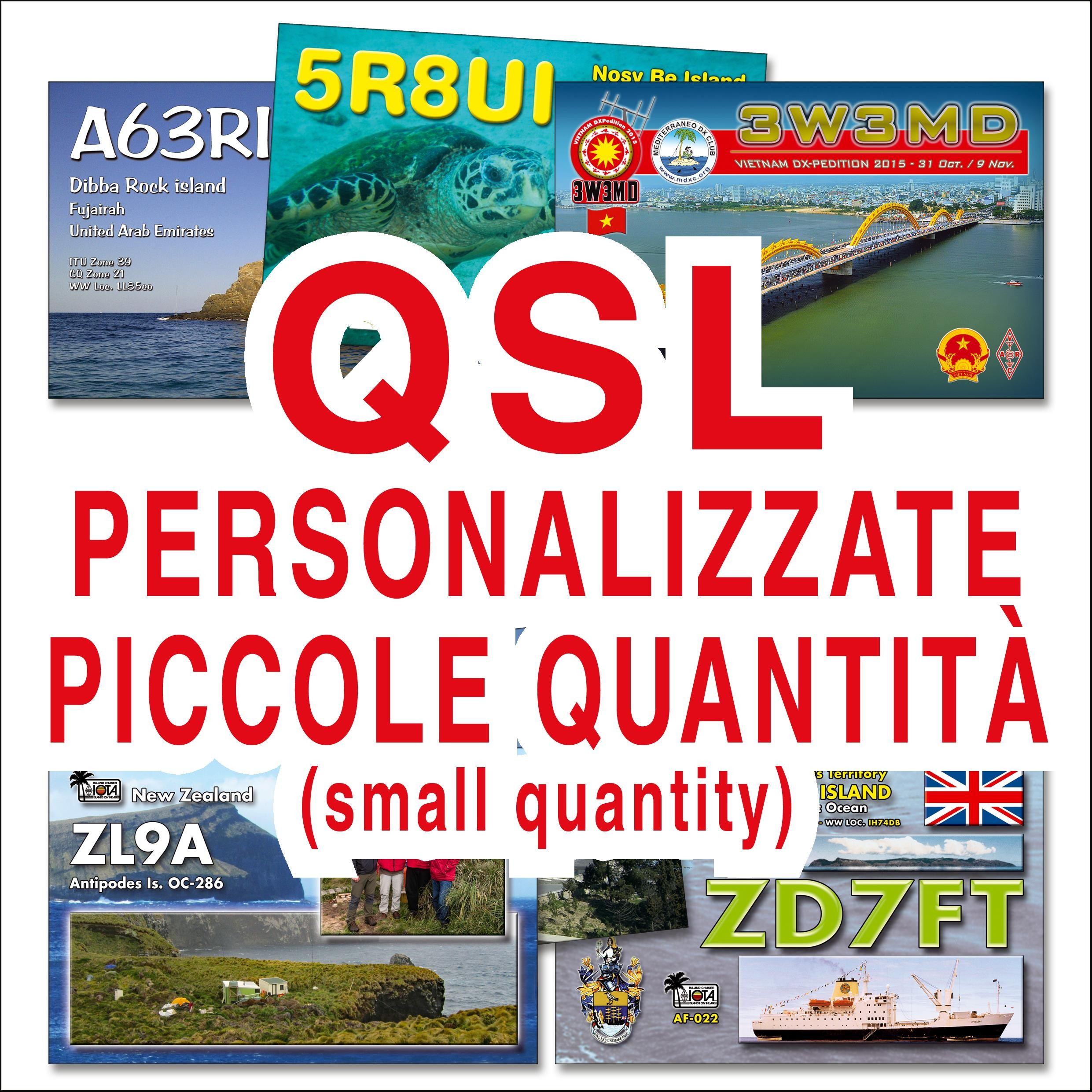 The most beautiful QSL of the world! Our customers say!