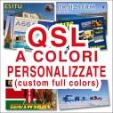 Custom full colors QSL CARDS