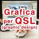 QSL card graphic design
