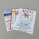 Leaflets A4