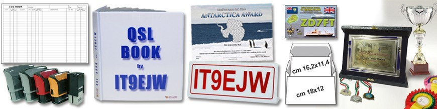 QSL and products for Ham Radio